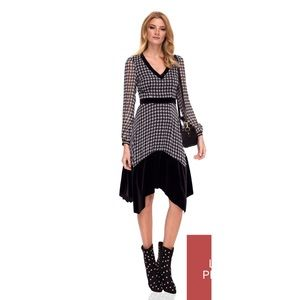 👯‍♀️Host Pick⚡️Nissa Midi Checked Dress
